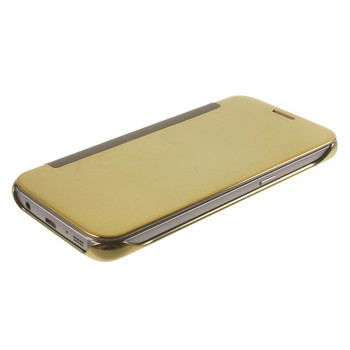 Samsung Galaxy S7 Smart Flip Cover Gold