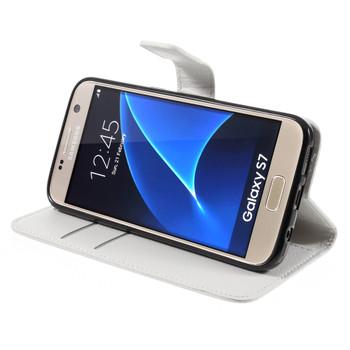 Samsung Galaxy S7 Wallet Case White