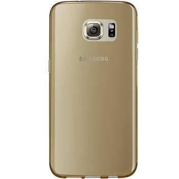 Samsung Galaxy S7 EDGE Silicone Case Gold