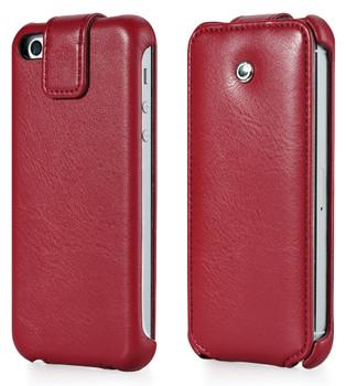 iPhone SE Leather Flip Case