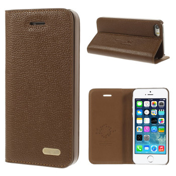 iPhone SE Slim Leather Case