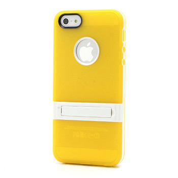 iPhone SE Bumper Case Yellow Back