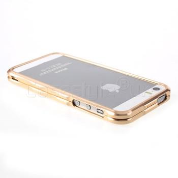 iPhone SE Aluminum Bumper Case Champagne