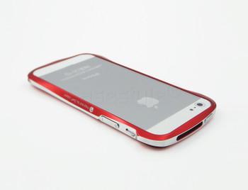 Deff Cleave iPhone SE Aluminum Bumper Red