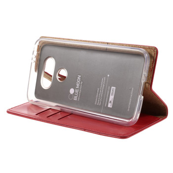 Mercury LG G5 Wallet Case Red