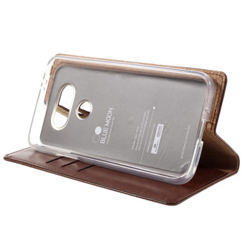 Mercury LG G5 Wallet Case Chocolate