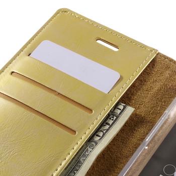 Mercury LG G5 Wallet Case Gold
