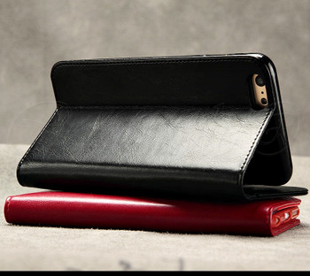 iPhone 5S 5 Premium Leather Wallet Case