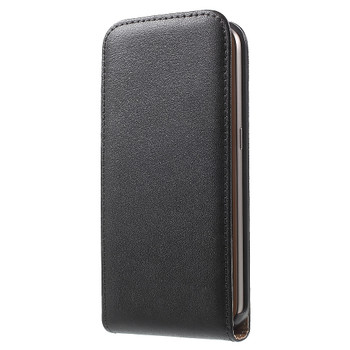 Samsung Galaxy S7 Leather Flip Case Black