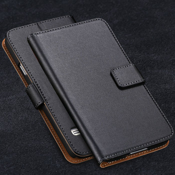 Samsung Galaxy S5 MINI Leather Wallet Case