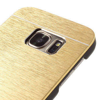 Samsung Galaxy S7 Aluminum Back Case Gold