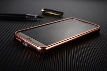 LG G5 Metal Aluminum Bumper Case+Back Cover Rose Gold