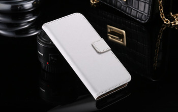 Samsung Galaxy S7 Wallet Case Leather White
