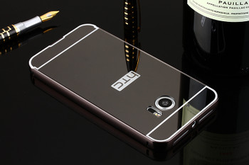 HTC 10 Aluminum Metal Bumper Case+Hard Back Cover