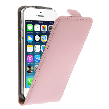 iPhone SE Leather Soft Pink
