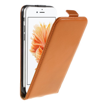 iPhone 6S Leather Case Orange