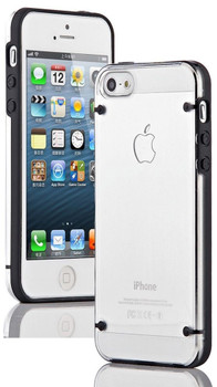 iPhone SE Bumper Case with Clear Back