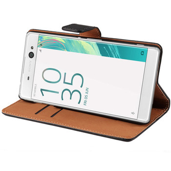 Sony Xperia X Leather Wallet Case