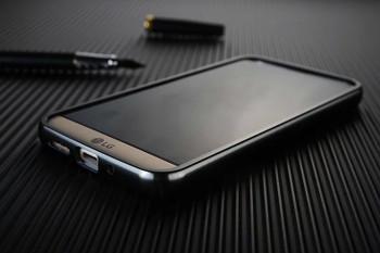 LG G5 Metal Aluminum Bumper Case+Back Cover Black