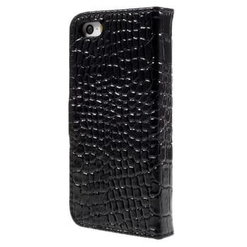 iPhone SE Crocodile Style Wallet Case