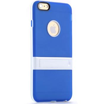 iPhone 6S/6 PLUS Size Bumper Stand Case Blue