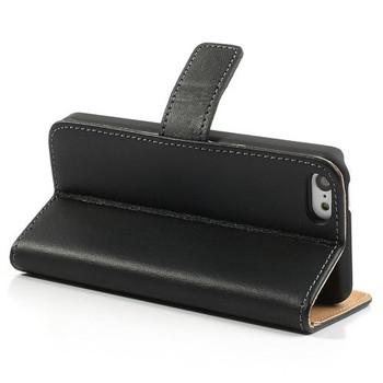 iPhone SE Slim Wallet Leather Case