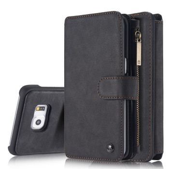 Samsung S6 EDGE Wallet with Removable case