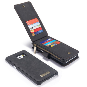 Samsung Galaxy S6 Leather Case Wallet-14 Card Slots