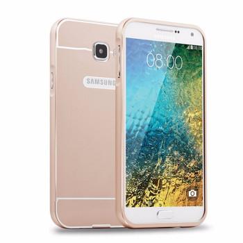 Samsung Galaxy A3 2016 Bumper Case+Back Cover Gold