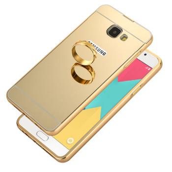 Samsung Galaxy A5 2016 Bumper Case+Back Cover Gold