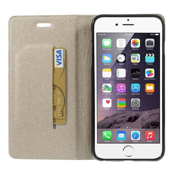 iPhone 6S 6 Wallet Case Cover Gold