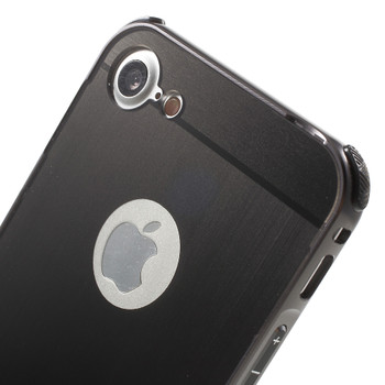 iPhone 7 Metal Aluminum Bumper Case+Slide Back