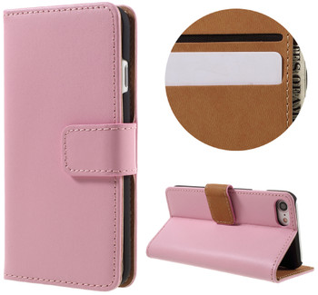 iPhone 7 Leather Case Pink