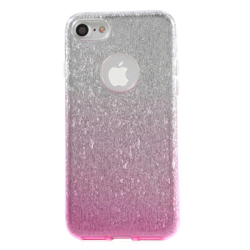iPhone 7 Glitter Sparkling Case Clear Pink