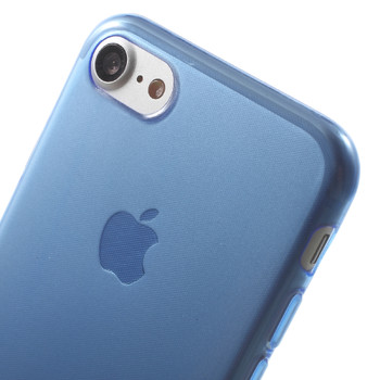iPhone 7 Silicone Case Cover Blue