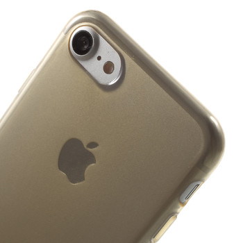 iPhone 7 Silicone Case Light Gold