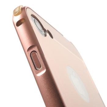 iPhone 7 PLUS Aluminum Bumper Case+Back Rose Gold