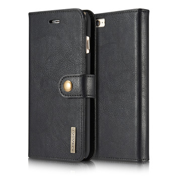 iPhone 6S 6 Leather Wallet With Removable Case