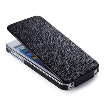 iPhone SE Real Leather Designer Flip Case