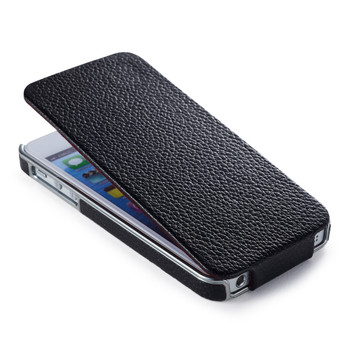 bf23a55dddd9 iPhone 5S Designer Case iCarer iPhone 5S 5 Real Leather Luxury Flip Case