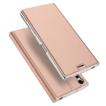 Sony Xperia XZ Flip Case Cover Rose Gold