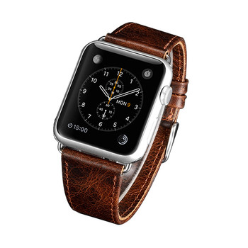 Apple Watch 38mm Series 3 2 1 Real Leather Strap Wristband