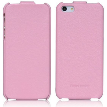iPhone 5S 5 Flip Case Light Pink