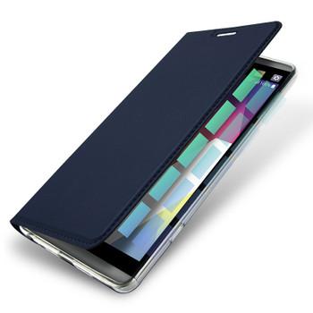 LG G6 Flip Case Cover Blue