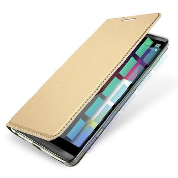 LG G6 Flip Case Cover Gold