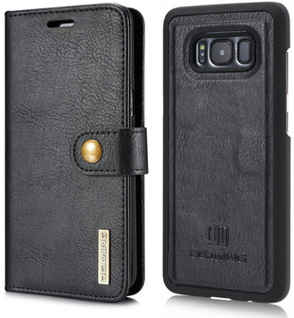 Samsung Galaxy S8 Leather Wallet with Portable Case