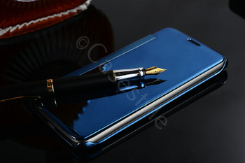 LG G6 Smart Case Auto Wake Sleep Cover Blue