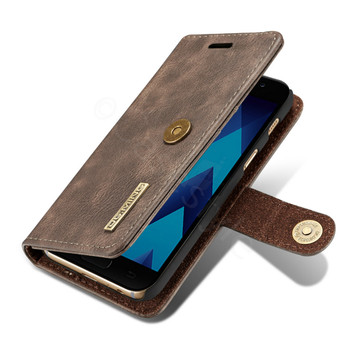 Samsung Galaxy A3 2017 Leather Case+Separable Cover Wood Brown