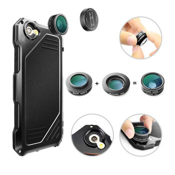 iPhone 7 Shockproof Interchangeable Lens Case