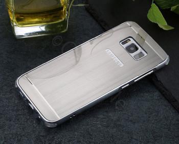 Samsung Galaxy S8+[Plus] Aluminum Metal Bumper Case Silver